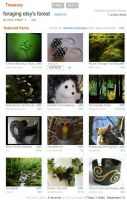 foraging etsy's forest by green-envy-designs