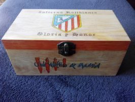 Atletico de madrid by Miguel-78