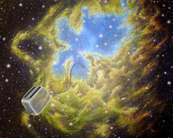 Toaster Passes Eagle Nebula by rblee83