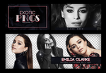 Pack Png 753 // Emilia Clarke by ExoticPngs