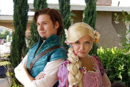 Flynn Rider does the smolder by Chingrish