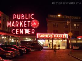 Pike Place Market At Seattle by SilentMobster42