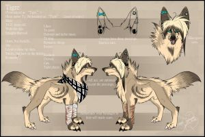 .: Ty ''Tigre'' Official Sheet Ref 2012 :. by SillyTheWolf