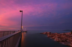 Nightcliff Jetty Sunset 2 by Bobby01