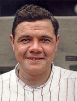 Colorization: Babe Ruth by marinamaral