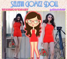 Selena Gomez Doll 1(Come and Get It) by RoohEditions