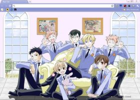 Ouran High School Host Club by BlodVark