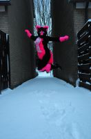 jumping in the air by FurryFursuitMaker