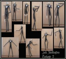 Jack skellington pack 2 by Adaae-stock
