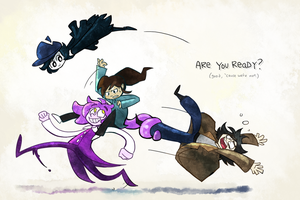 Team Shenanigans by LlamaDoodle