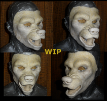 Werewolf mask update by nagowteena101