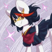 Matoi Ryuko (Pony) by mylittleRainbow-Time