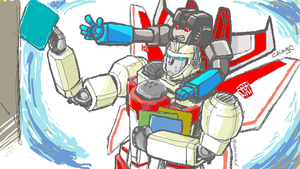 G1 starscream+skyfire by quetzalliao