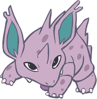 033. Nidorino by HappyCrumble