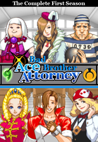 Bad Brother: Ace Attorney DVD Cover by shadow0knight