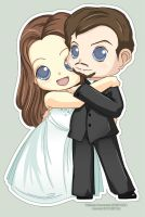 Wedding Chibis : EverAqua by Kalisama