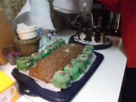 Tree cake and other cakes by Linnea-Rose
