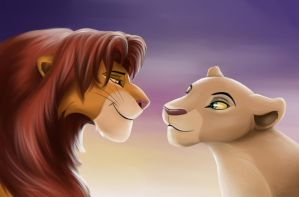 Young King and Queen by crybaby-1990