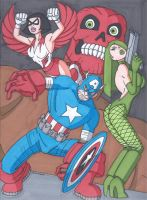 Frank Miller's Captain America by RobertMacQuarrie1