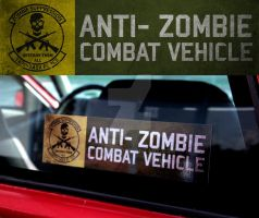 Anti-Zombie Combat Vehicle IRL by TacoAce