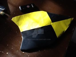 My Shield and My Cell phone =P by JECSTER21