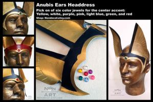 Custom Anubis ears by nondecaf
