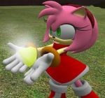 Amy Rose hypnotized by DStoner by Dj-Stoner