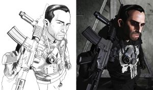 Punisher Process by soonergriff