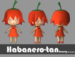 Habanero-tan by Remely