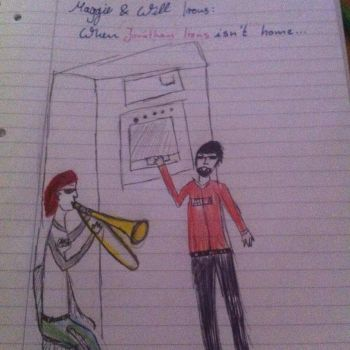 When jonathan irons isn't home by Bloodsgirl12