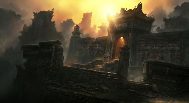 Temple Ruins by JonasDeRo