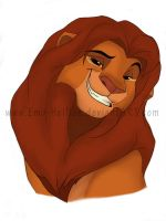 Adult Simba by Emo-Hellion