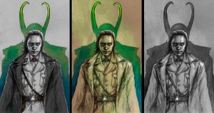 Loki versions by MadLittleClown