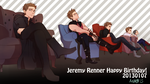 Jeremy Renner The Big Birthday!!!! by mint0729