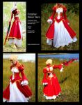 Saber Nero - Costume Views by Fylgjur