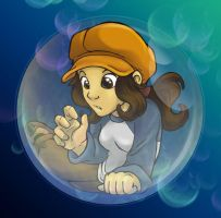 Bubble Child - Roxanne by Wazaga