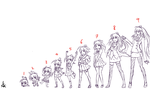 1 to 9 heads body proportion by flamet123