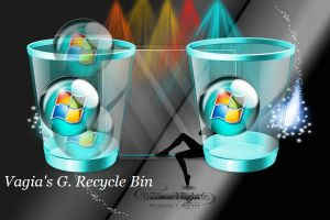 Vagia's G. Recycle Bin by XceNiK