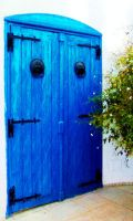 the blue door by aliemraharp