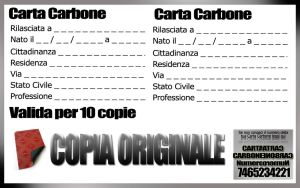 Carta Carbone by Fra01000110