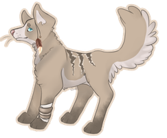 Canine adoptable auction [[OPEN]] by Civah