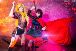 Team RWBY: Sisters by Sasha-Dee