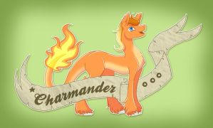 Charmander by TechTalkPony