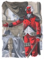 Animazment 2015 Sketch: Presidential Deadpool by Shono