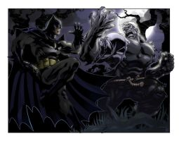 Batman vs. Solomon Grundy by spidermanfan2099