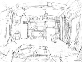 Perspective Study by DamienSaelak