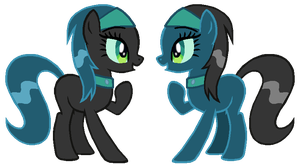 Chrysalis twins by ClassicsAreDEAD