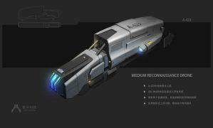 Medium reconnaissance drone by Seeker800