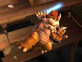 Bowser Wants To Be a Jedi by TheTweedleTwins
