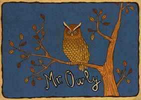 Mr. Owly by Vildensky